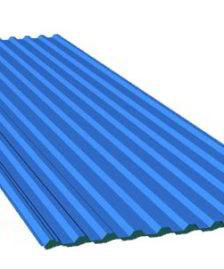 Mái lợp composite 11 sóng xanh