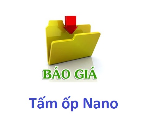 Báo giá tấm ốp Nano