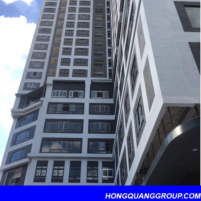 Hình ảnh thi công cửa khung nhôm công trình Bắc Ninh 3