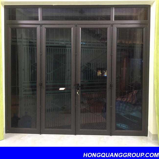Hình ảnh thi công cửa khung nhôm công trình Bắc Ninh 8
