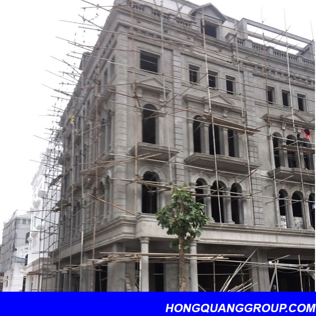 Thi công cửa kính nhôm XingFa dự án Hà Đông Hà Nội 1