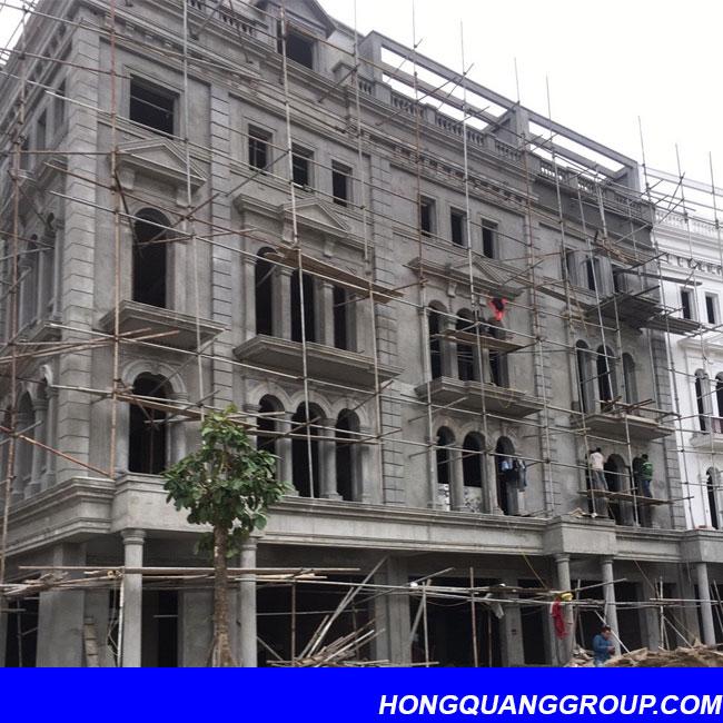 Thi công cửa kính nhôm XingFa dự án Hà Đông Hà Nội 2
