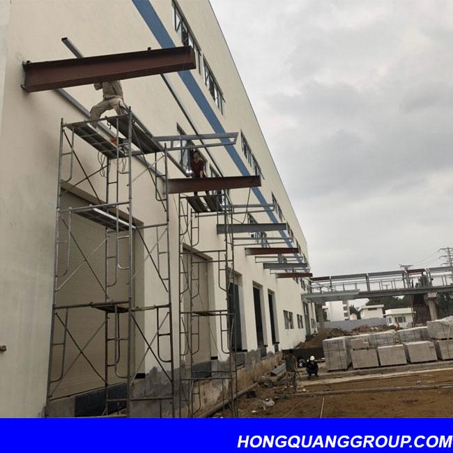 Thi công cửa kính nhôm XingFa dự án Hà Đông Hà Nội 3
