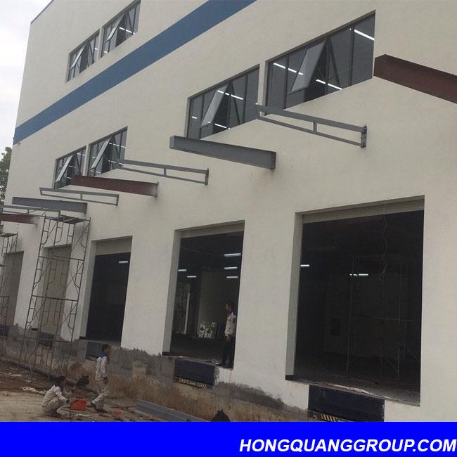 Thi công cửa kính nhôm XingFa dự án Hà Đông Hà Nội 4