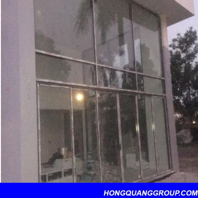 Thi công cửa kính nhôm XingFa dự án Hà Đông Hà Nội 5