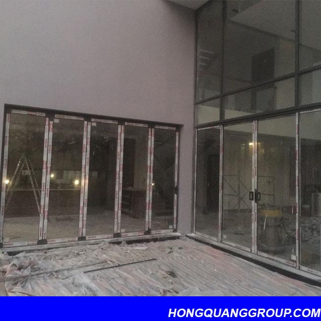 Thi công cửa kính nhôm XingFa dự án Hà Đông Hà Nội 6