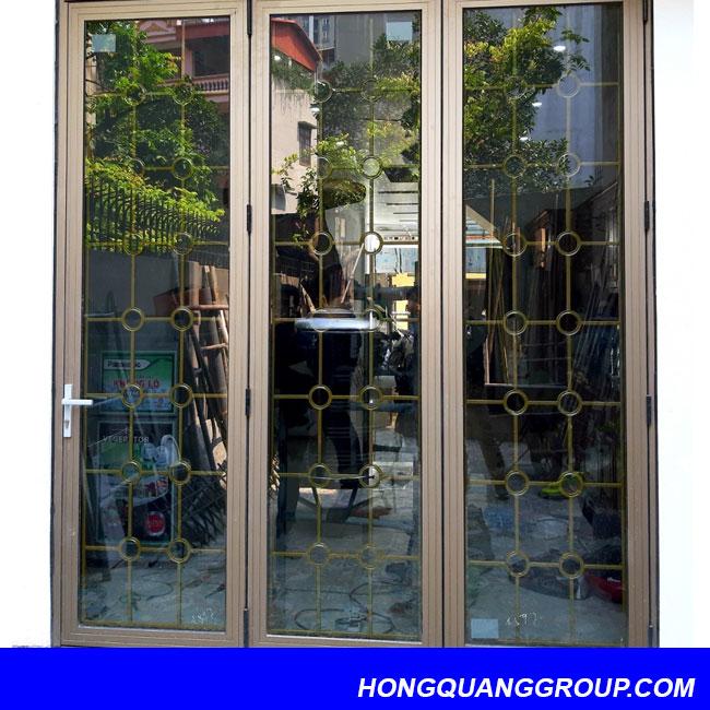 Thi công cửa nhôm kính tại Điện Biên 1