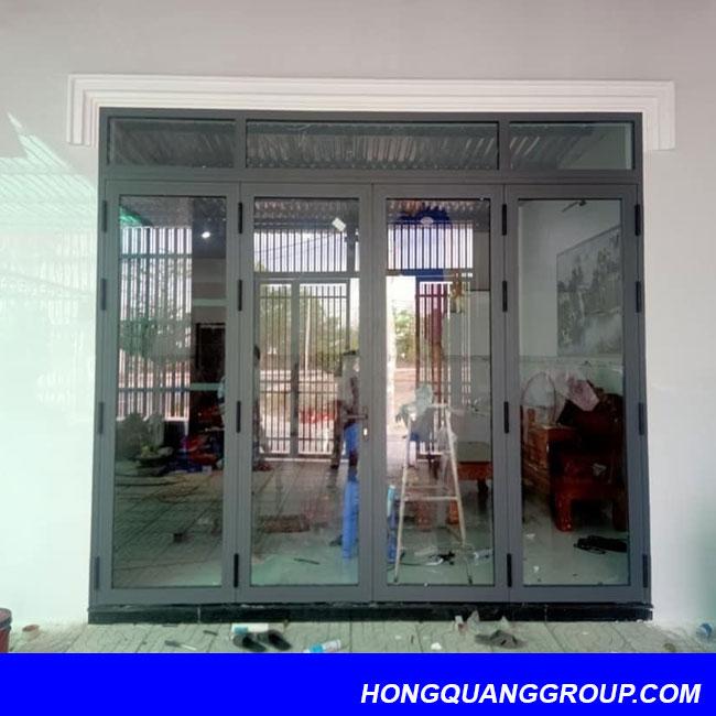 Thi công cửa nhôm kính tại Điện Biên 2