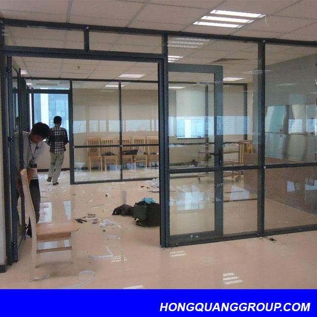 Thi công cửa nhôm kính tại Điện Biên 6